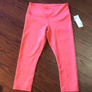 Zella Coral Hugh waist crop yoga pants